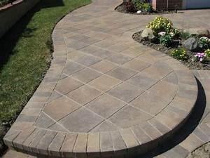 The beauty and advantages of paver patio design paver for Patio paver design ideas