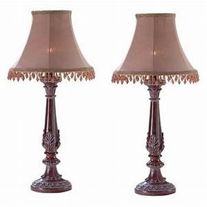 2, Bedazzled, Lamps, Casual, Lovely, Small, Lamp