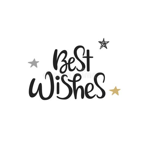 best wishes phrase best wishes lettering new