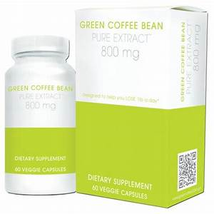 Creative Bioscience Bean Pure Extract Diet Supplement  Green Coffee  60 Count