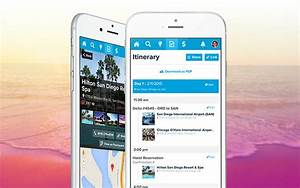 Vacation Travel Itinerary Template Travel Itinerary Builder Online Trip Planner Travefy