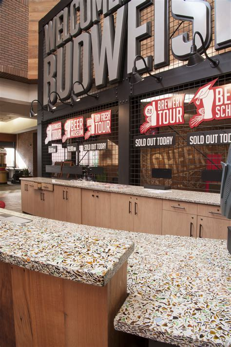 Anheuser Busch Visitor Center   Custom Counters   Project