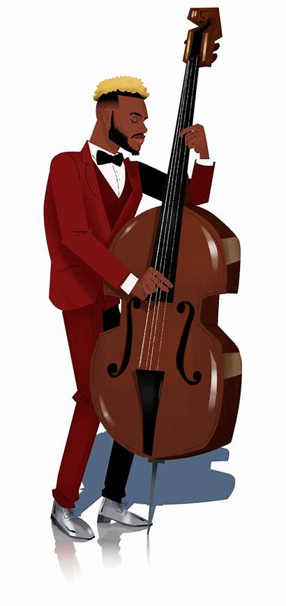 Bass Animated Illustration Browne Bart Following