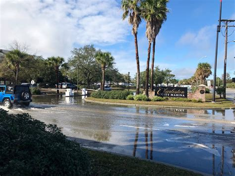 record breaking high tide  significant flooding