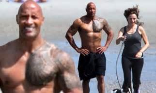 dwayne johnson bikini lauren hashian bikini images