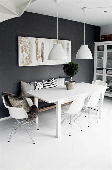 modern black  white dining room sets