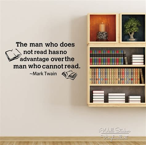 motivational quote wall sticker read books quotes wall