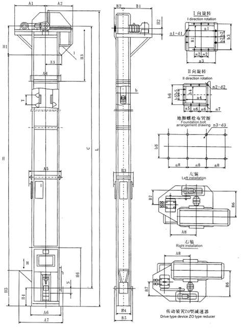Bucket elevator_Nantong Yawei Machinery Manufacture Co., Ltd.