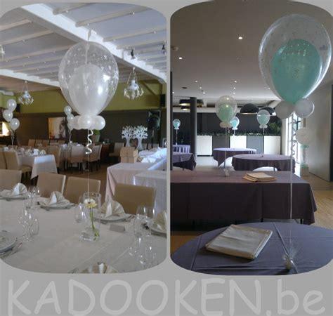 decoratie trouwfeest heliumballonnen aankleding feestzaal decoratie