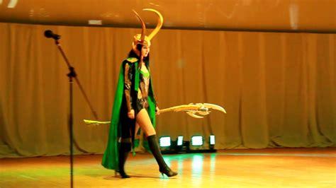 Loki And Lady Loki Cosplay At Unitycon 2018 Youtube