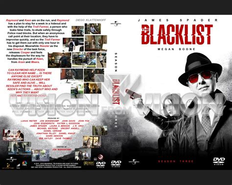the blacklist season 3 dvd