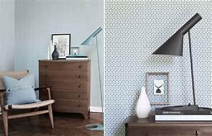 papiers peints pour une chambre scandinave blog au fil With couleur pour un salon 2 papiers peints pour une chambre scandinave blog au fil