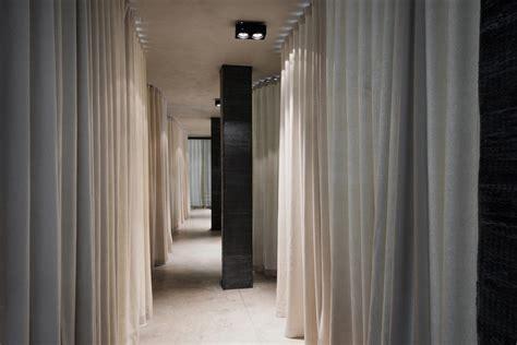 un curtain office by dekleva gregori芻 arhitekti in ljubljana