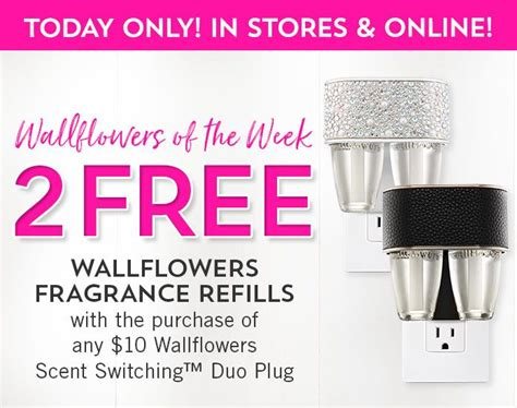 fragrance bath body wallflowers bathandbodyworks