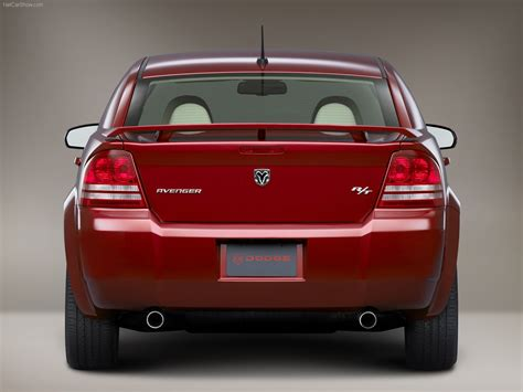 dodge avenger rt picture    rear