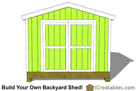 10x10 shed plans backyard shed storage shed plans
