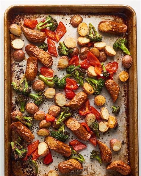 sheet pan italian sausage  veggies kitchn