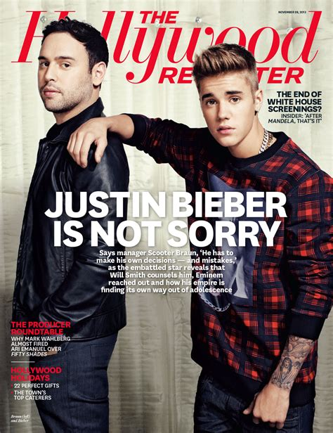 Justin Bieber The Hollywood Reporter Photo Shoot Pictures 2013