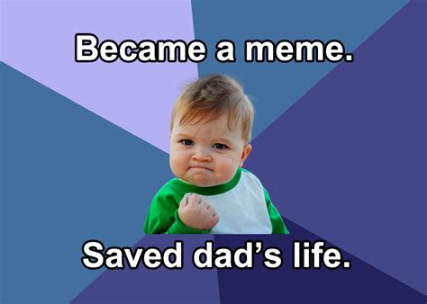 Success Baby Memes - success kid meme star crowdfunds his dad s kidney transplant the mary sue