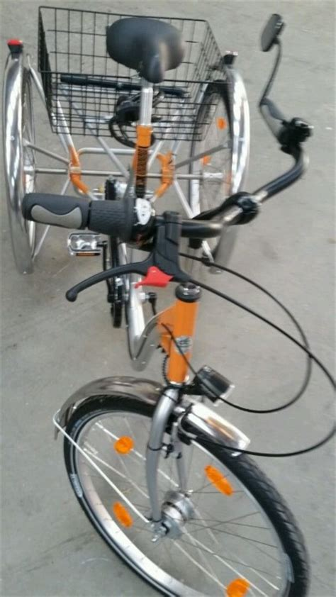 fahrrad tiefer einstieg 24 zoll dreirad fuer erwachsene erwachsenendreirad tiefer einstieg tiefeinstieg rodenbach