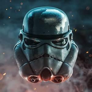 Cool, Stormtrooper, Helmet, Art