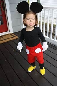 Kostüm Baby Selber Machen : ein kleines mickey maus kost m selber machen von einem kleinen m dchen einfache halloween ~ Frokenaadalensverden.com Haus und Dekorationen