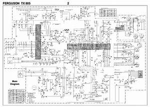 Ferguson Tx805 Service Manual Download  Schematics  Eeprom