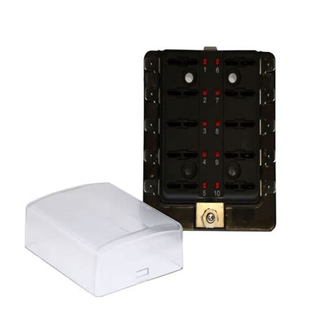 Power Fuse Box City by Buy 10 Position Blade Fuse Box With Led Blown Fuse