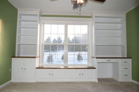 built in desk and bookshelves bookshelf window seat nursery window seat bookshelves