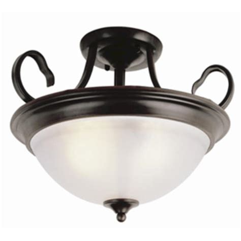 menards flush ceiling lights patriot lighting 174 arabella 3 light 15 quot rubbed bronze