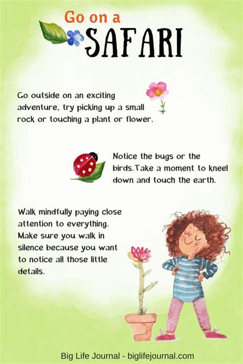 fun mindfulness activities  children mindfulness