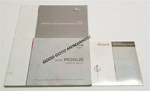 2009 Nissan Rogue Suv Owners Manual User Guide Sl S V4 2
