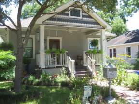 Houston Bungalow Porch Garden Front Porch Ideas Style For Ranch Home