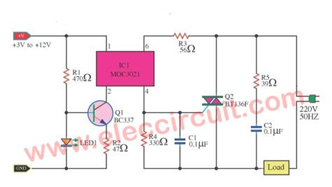 Solid State Relay Circuit Electronics Projects Circuits