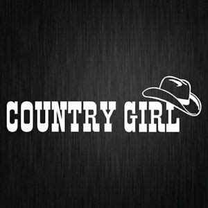 foto de COUNTRY GIRL STICKER VINYL CAR DECAL BNS UTE 300mm x