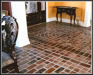 Brick a floor gurus floor for Cost of brick flooring