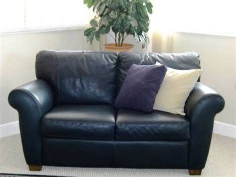 Navy Blue Leather Sofa And Loveseat by Blue Leather Loveseat For Home