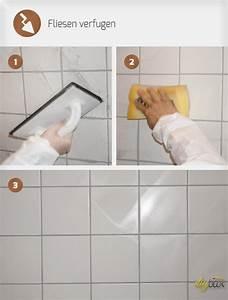 Fliesen Verfugen Wand : fliesen an wand verfugen wohn design ~ Frokenaadalensverden.com Haus und Dekorationen