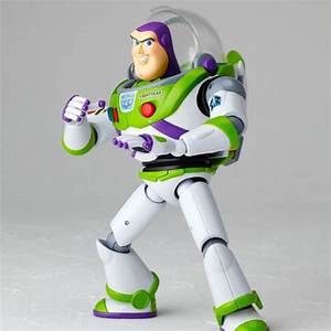 Sci-fi Revoltech 011 Toy Story BUZZ LIGHTYEAR Action ...