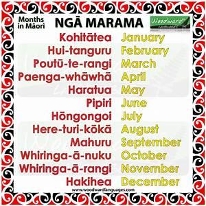 Months In M U0101ori
