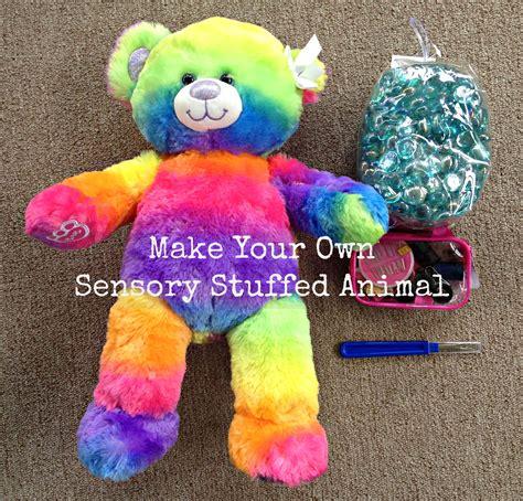ways   weighted sensory stuffed animals mommy