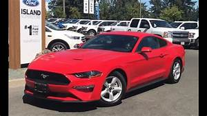 Red 2018 Ford Mustang Ecoboost Review - Island Ford - YouTube