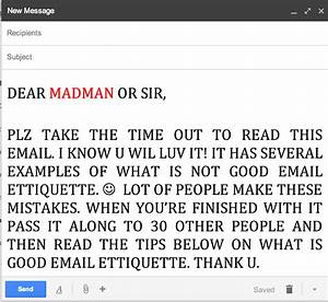 dear students teachers say email etiquette has room for With email etiquette template