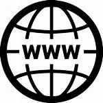 Web Website Internet Icon Wide Network Clipart