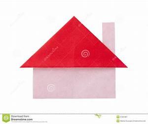 Origami Maison En Papier : maison de papier d 39 origami photographie stock libre de ~ Zukunftsfamilie.com Idées de Décoration