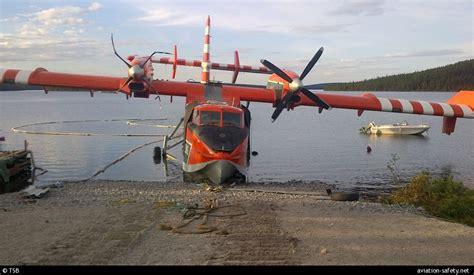 Crash Aerien  Dun Canadair Cl  B