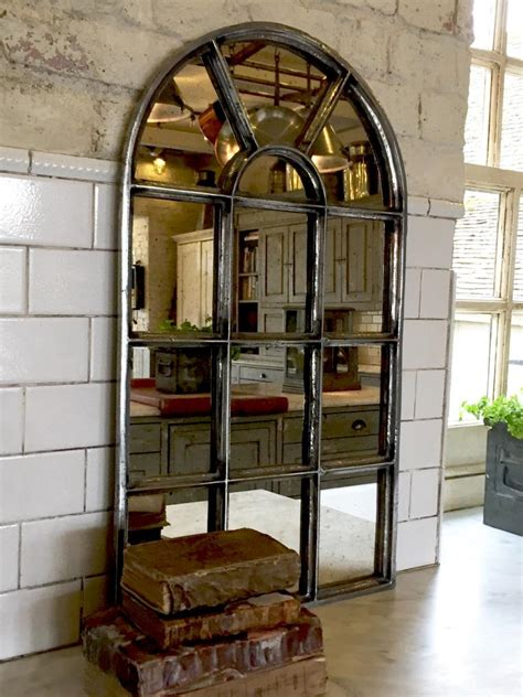 antique small arch reclaimed mirror recalimed mirror antique sap aldgate home