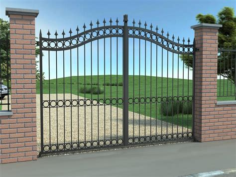 cancello  ferro zincato  battente alcamo trapani
