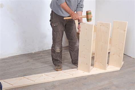 monter un escalier en bois quart tournant en kit