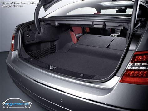 mercedes a klasse kofferraum maße foto bild mercedes e klasse coupe kofferraum